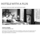 Hotels with a plus